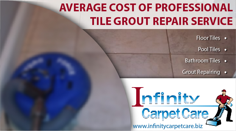 Average Cost of Professional Tile Grout Repair Service