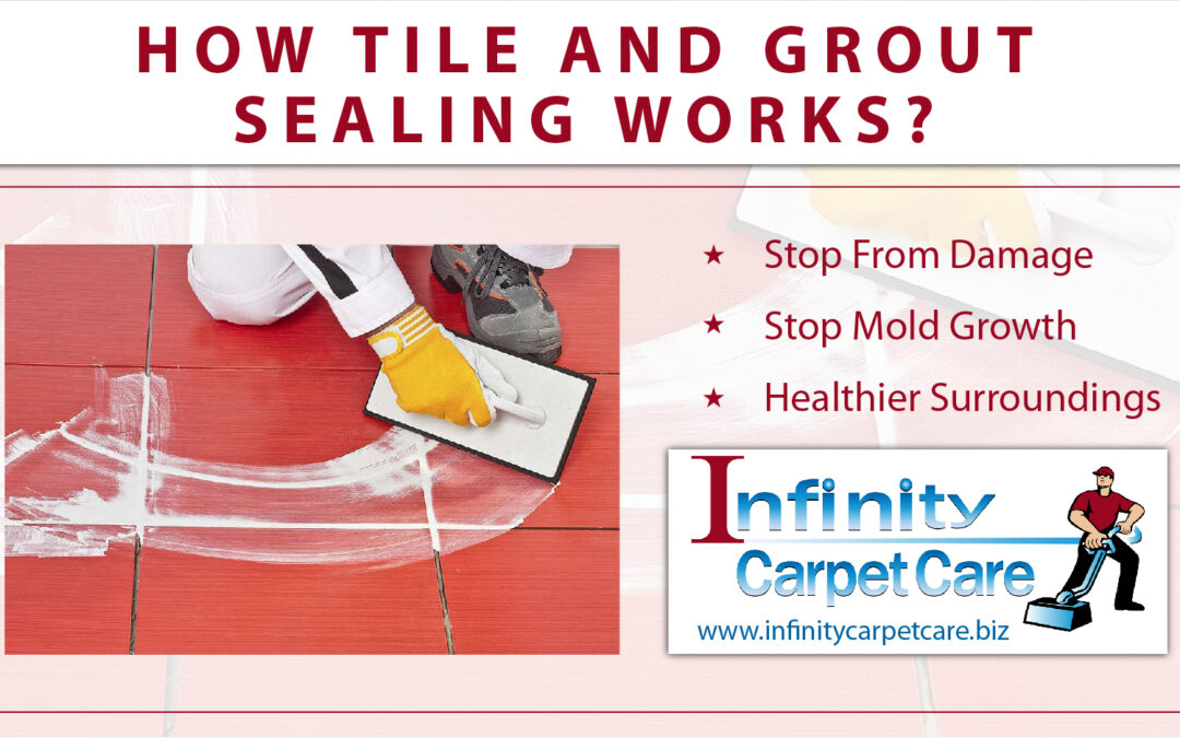 How Tile and Grout Sealing Works?