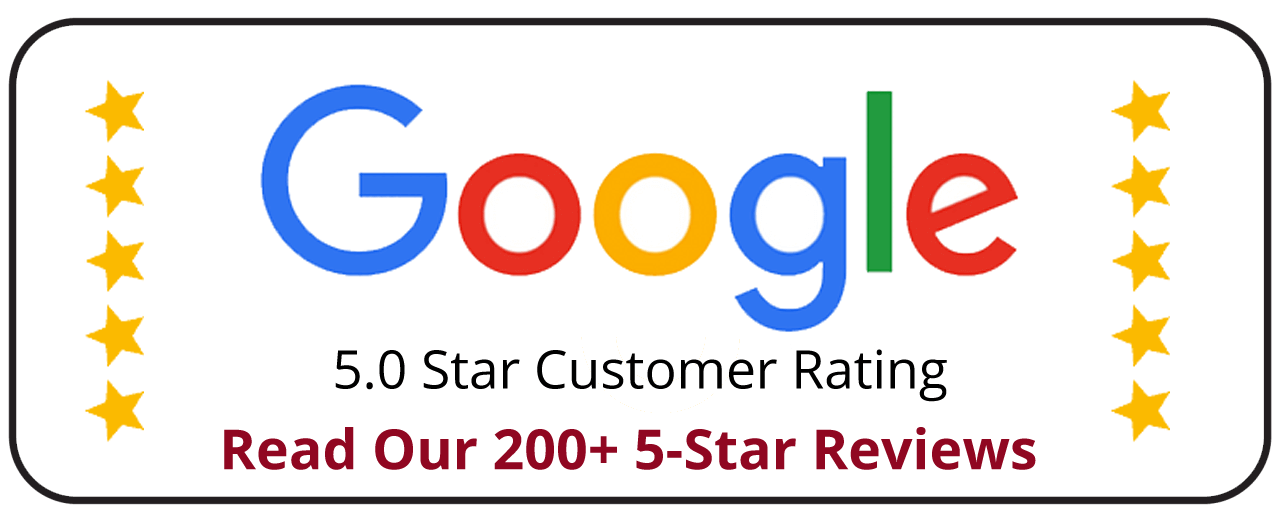 5-Star Customer Rating On Google