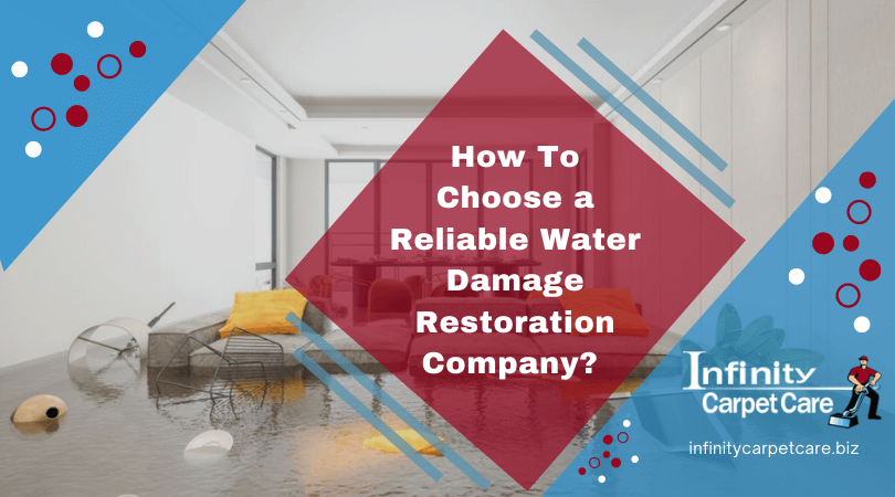 How To Choose a Reliable Water Damage Restoration Company?