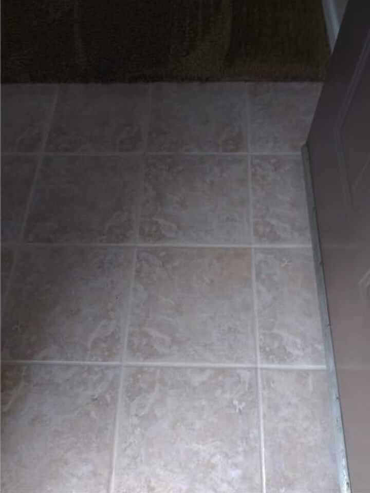 After Tile & Grout Cleaning & Sealing